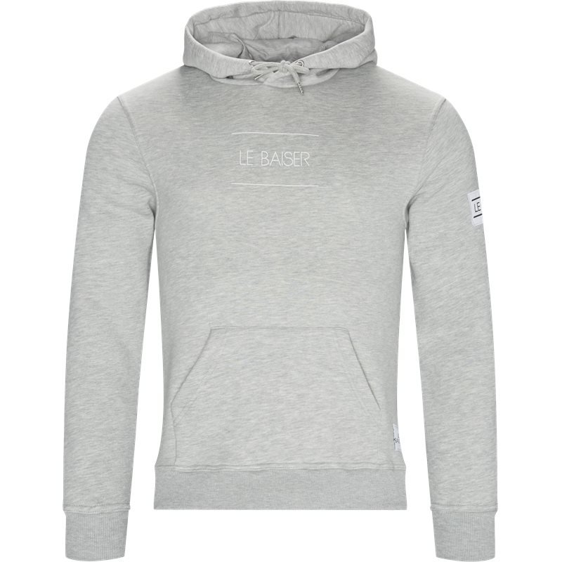 le baiser – Le baiser nancy sweatshirt grey melange fra quint.dk